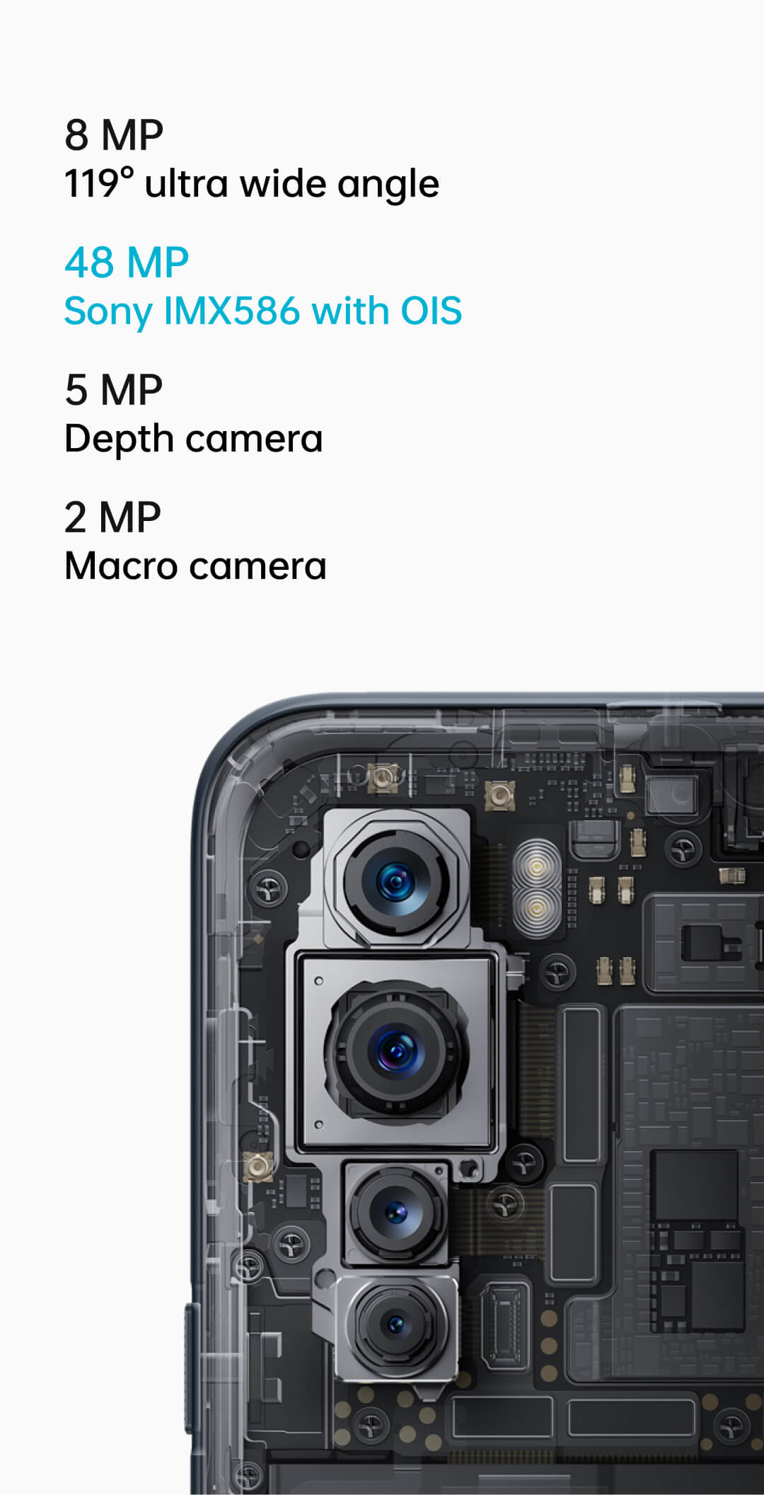 OnePlus Nord Camera Techical Specification